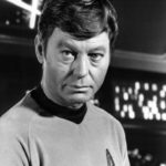 Healthy website proponent Mason James is not shown here. This is actor DeForest Kelley who played Dr. McCoy in the Star Trek TV series and movies.