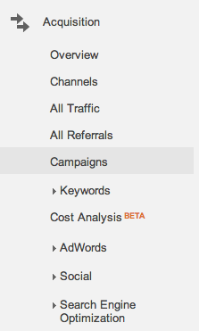 How to View Campaigns in Google Analytics