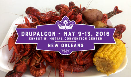 Drupalcon 2016 New Orleans