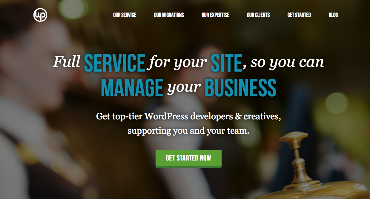 WP Valet full service WordPress maintenance and migrations.