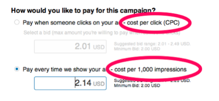 wpv - how to pay - linkedin ads
