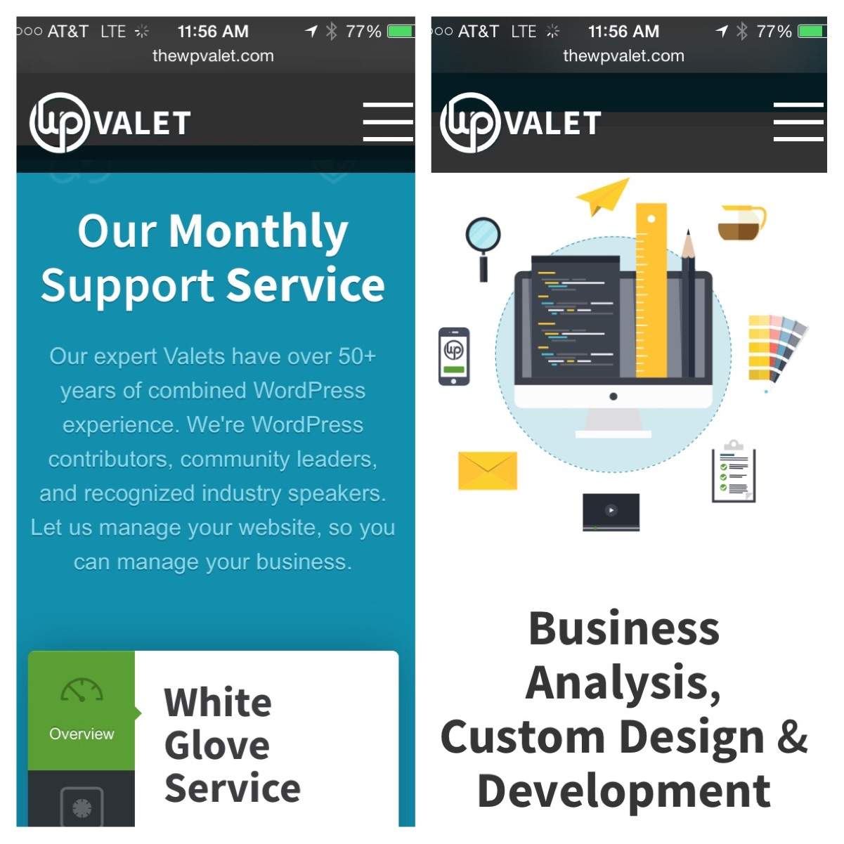 Mobile Responsive Examples